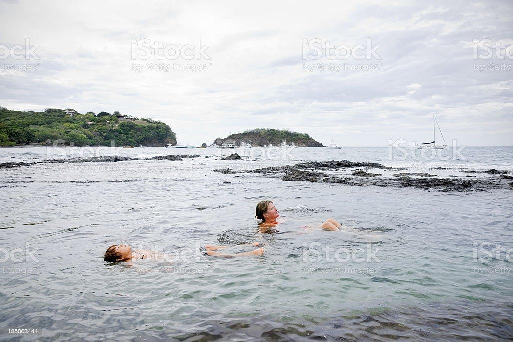 Private pool stock photo