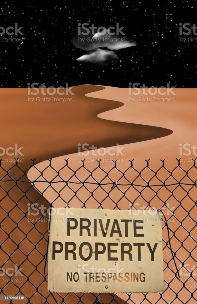 Private Property royalty-free stock photo
