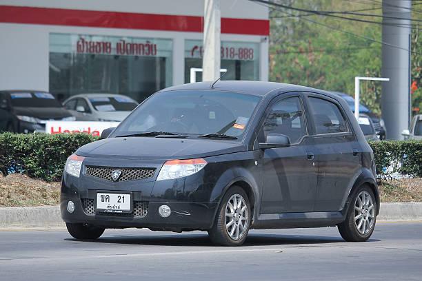 private proton versierte. produkt malasia land. - proton auto stock-fotos und bilder