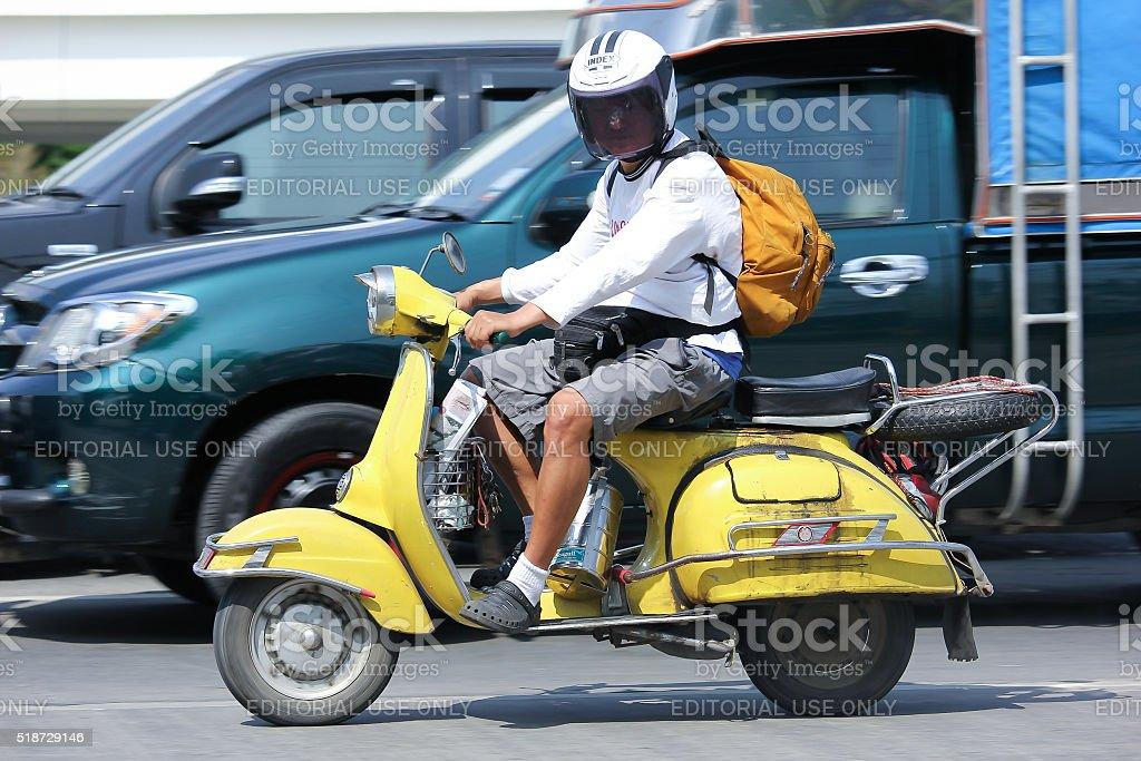 Private Racing Honda CBR Motorcycle stock photo