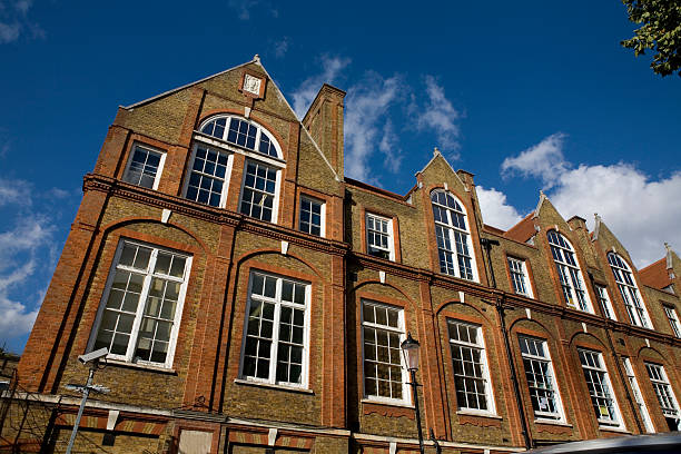 private school in london england - private school stock photos and pictures