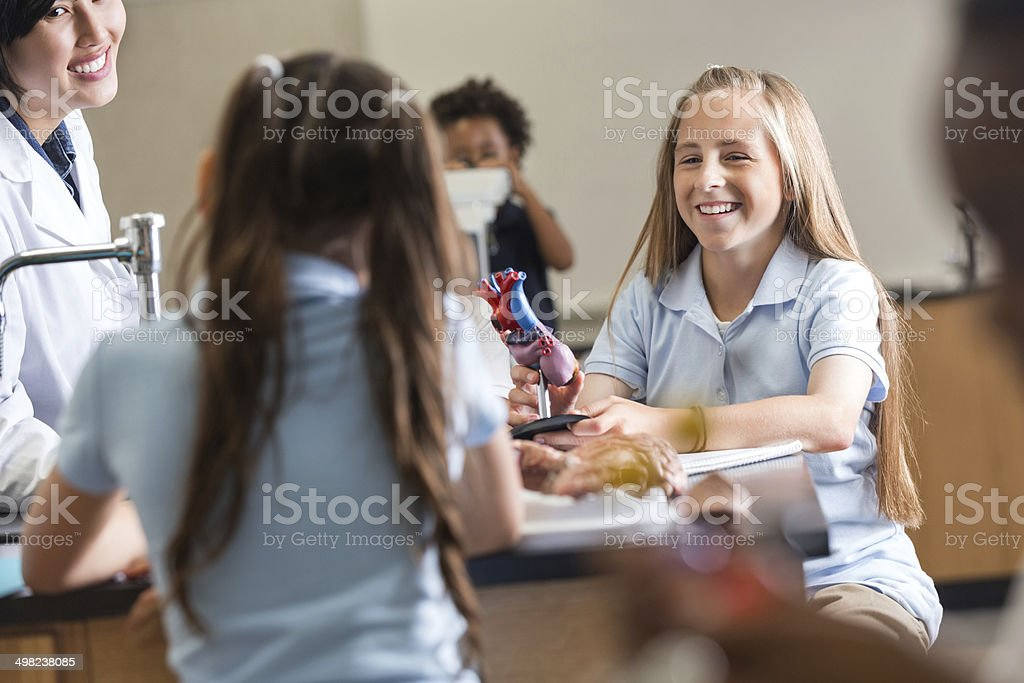 Fotografía de El Aprendizaje De Los Estudiantes En La Escuela ...