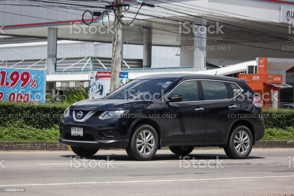 Private Suv Car Nissan X Trail Stock Photo Download Image