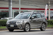 istock Private Suv car, Subaru Outback 995244924