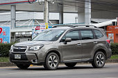 istock Private Suv car, Subaru Outback 995244934