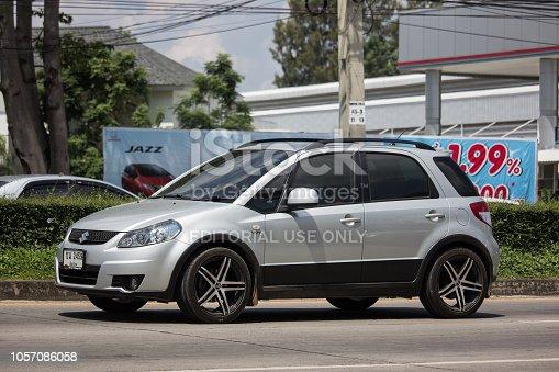 istock Private SUV car, SUZUKI SX4. 1057086058