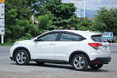istock Private Urban Suv car, Honda HRV. 596040666