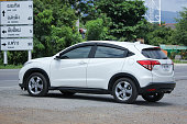 istock Private Urban Suv car, Honda HRV. 596040692