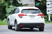 istock Private Urban Suv car, Honda HRV. 596040756