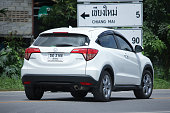 istock Private Urban Suv car, Honda HRV. 596040812