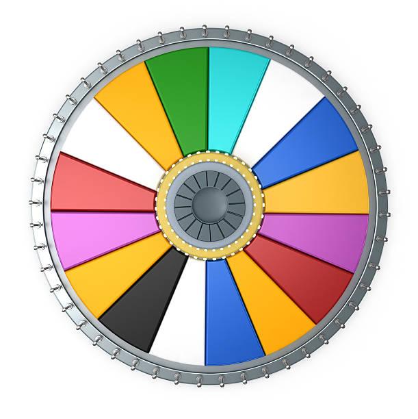 prize wheel - ronddraaien stockfoto's en -beelden
