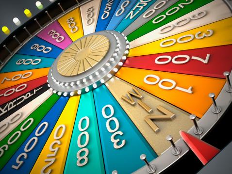 Glücksrad Stockfoto und mehr Bilder von Anreiz
