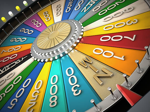 Prize wheel Prize wheel with