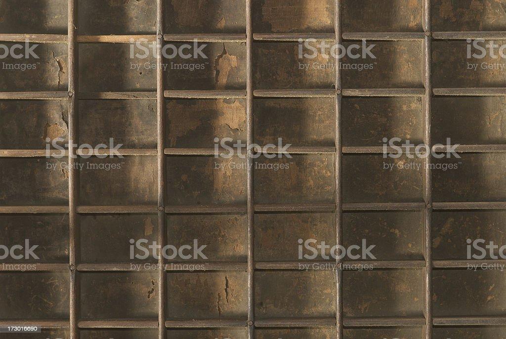 Prnter Drawer stock photo