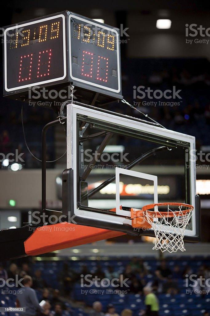 Pro Basketball Hoop stock photo
