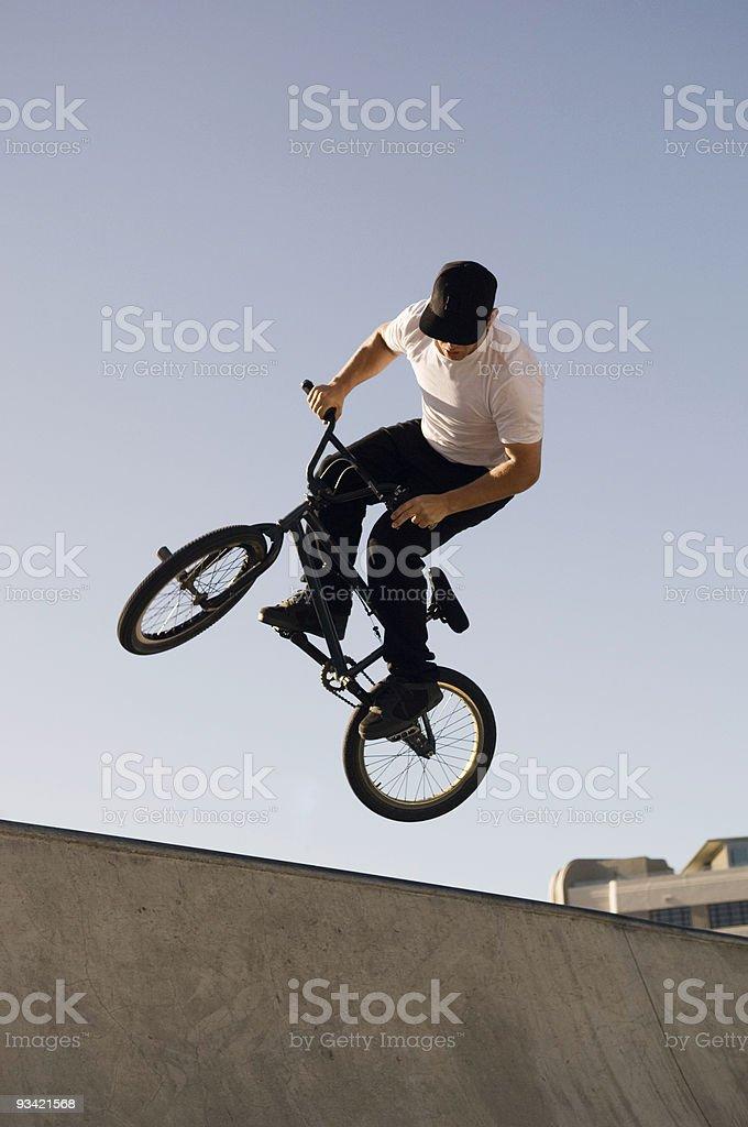 Pro BMX Styles royalty-free stock photo