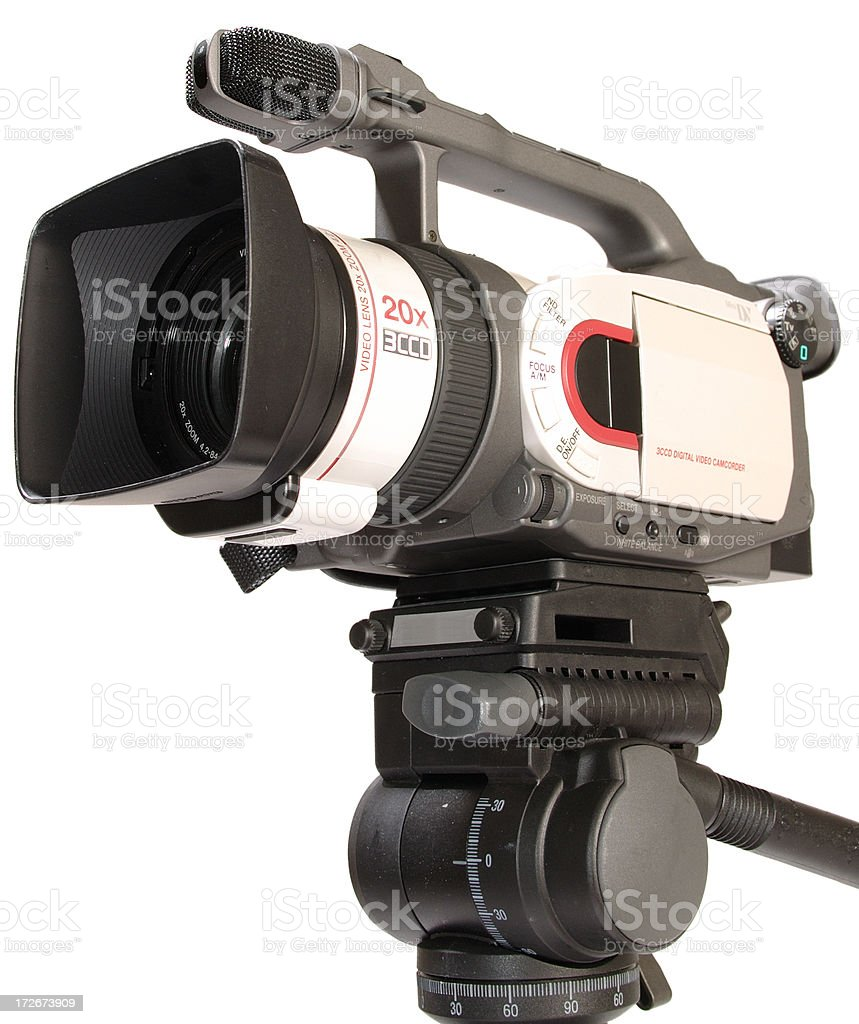 3CCD Pro Cam 3 (w.path) royalty-free stock photo