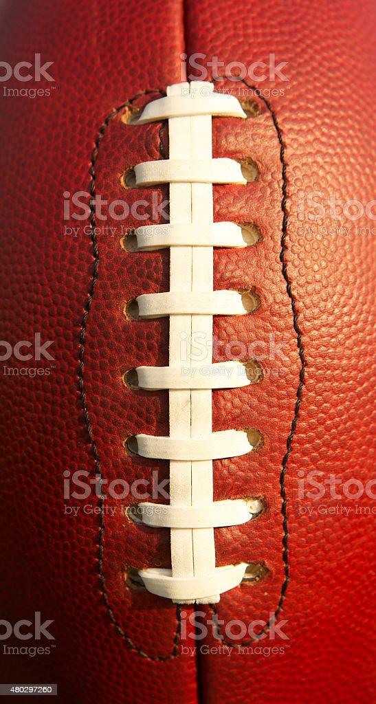Pro Football Close Up stock photo