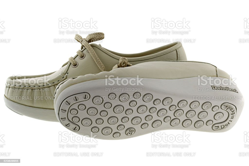 Pro Series Dortmuend walking shoes in Beige stock photo