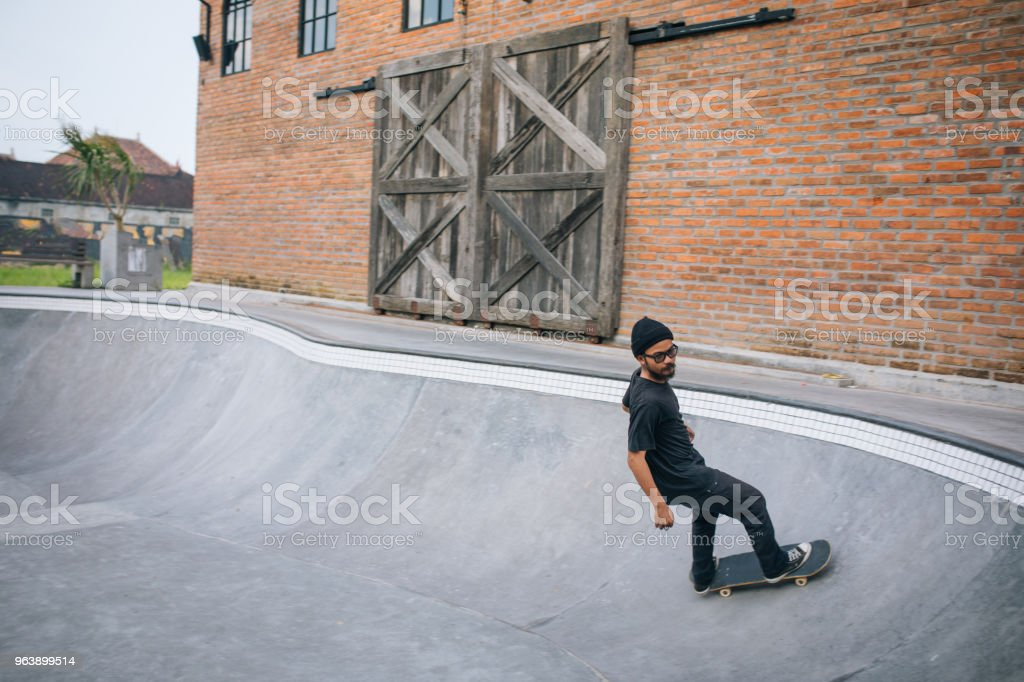 Pro skater - Royalty-free Adult Stock Photo