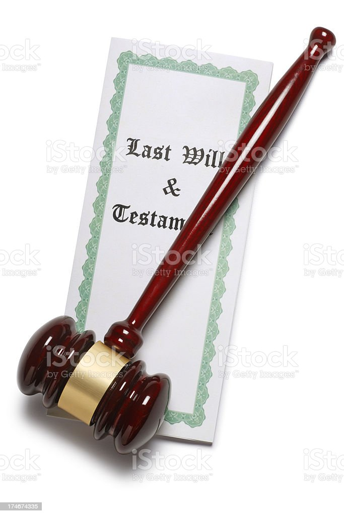 Probate & Estate Law royalty-free stock photo
