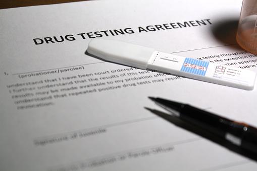 what do probation officers test for in drug tests