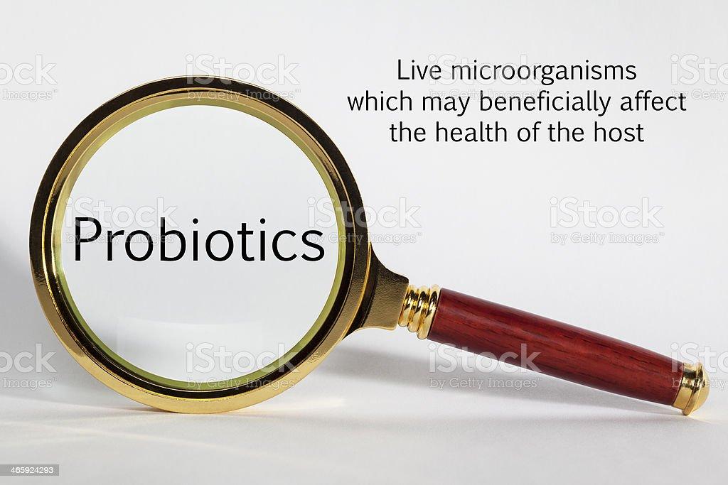 Probiotics Concept stock photo