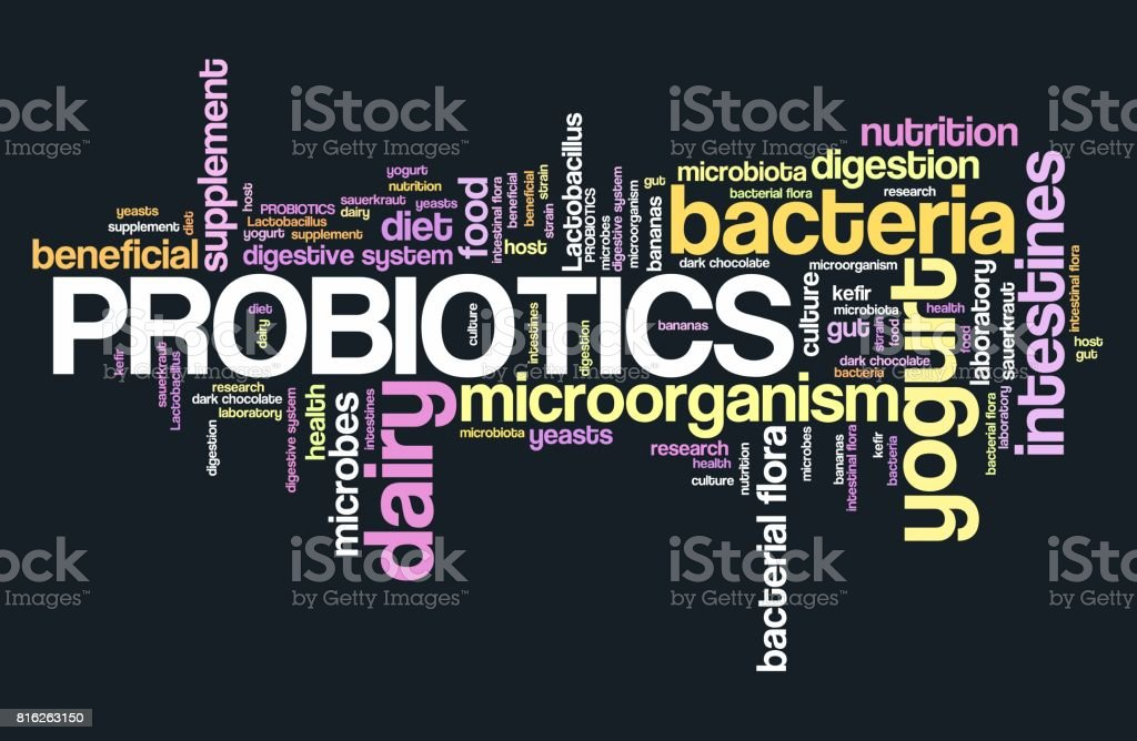 Probiotics stock photo