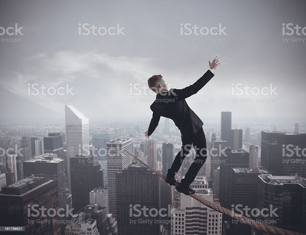 Problem in business royalty-free stock photo