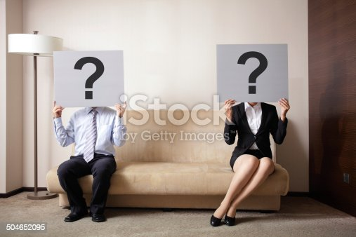 istock Problem in young couple 504652095