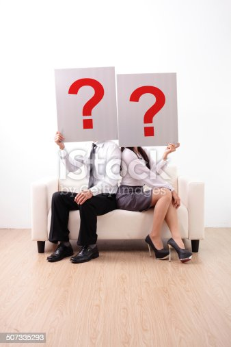 istock Problem in young couple 507335293