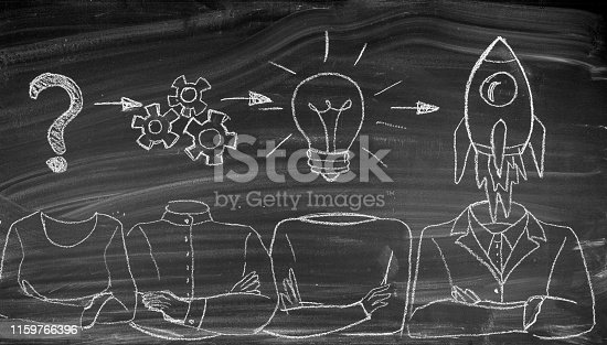 istock Problem solution business 1159766396