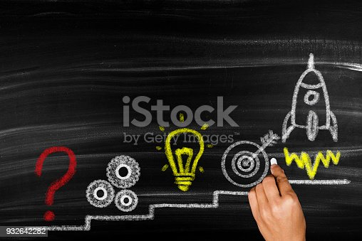 istock Problem solution business 932642282