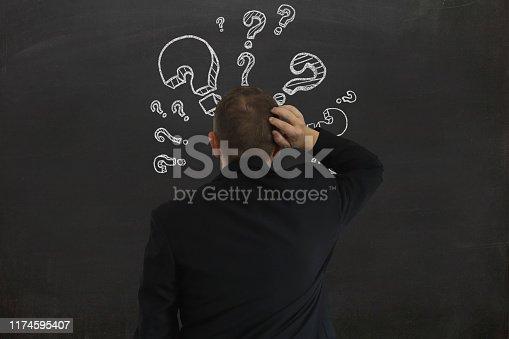 1048039800 istock photo Problem solution idea business decision 1174595407