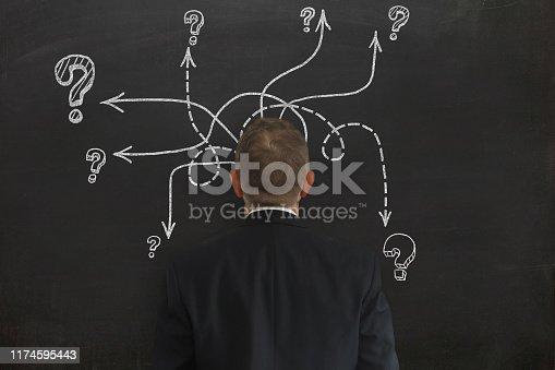 1048039800 istock photo Problem solution idea business decision 1174595443