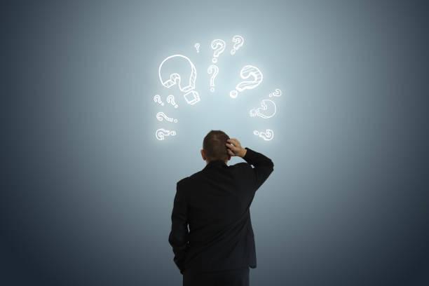 Problemlösung Idee Geschäftsentscheidung Frage – Foto