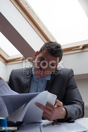 833210686 istock photo Problems at work. 941998824