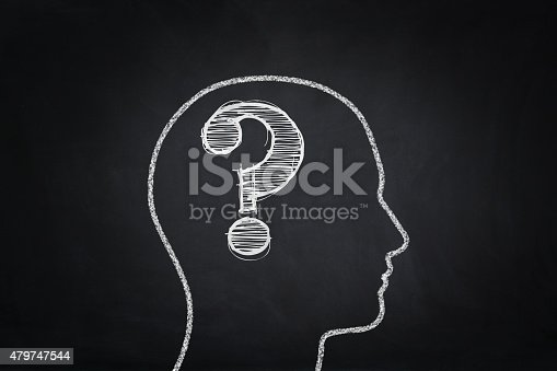 istock Problems concept on the blackboard 479747544