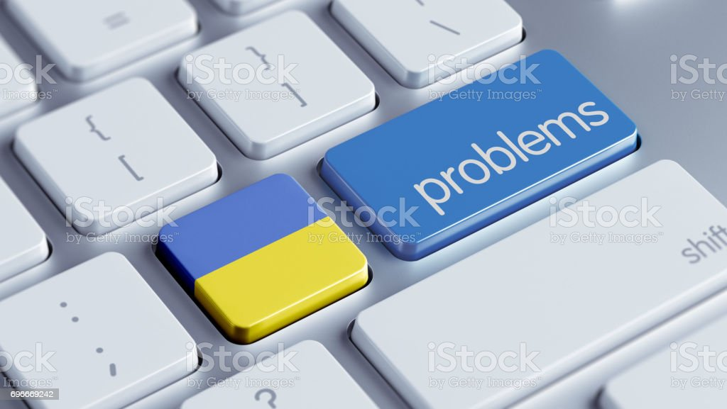Problems Concept stock photo