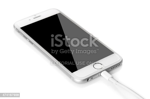 istock Problems in charging the Iphone 474167938