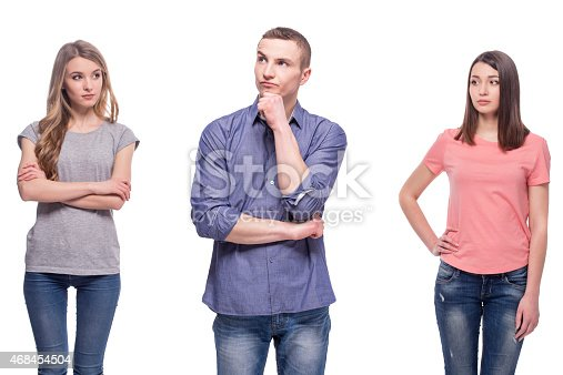 istock Problems in relationships 468454504