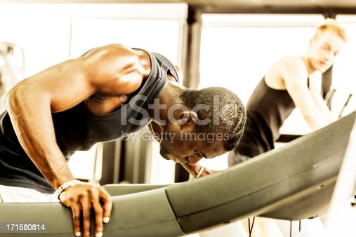 1069872470 istock photo Problems on the gym treadmill 171580814