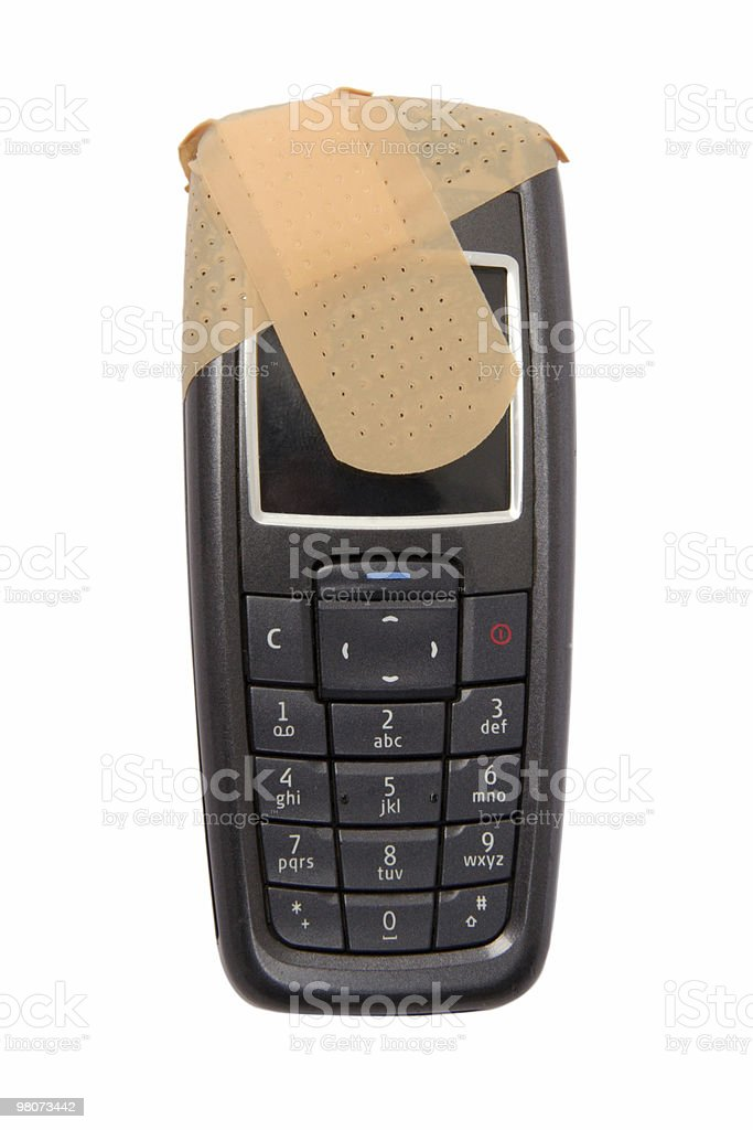 Problems whith Telecommunications Equipment royalty-free stock photo