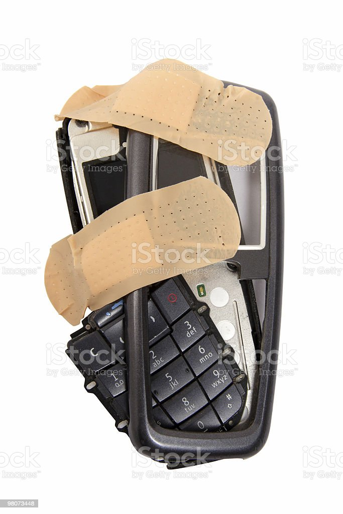 Problemi whith Attrezzatura per le telecomunicazioni foto stock royalty-free