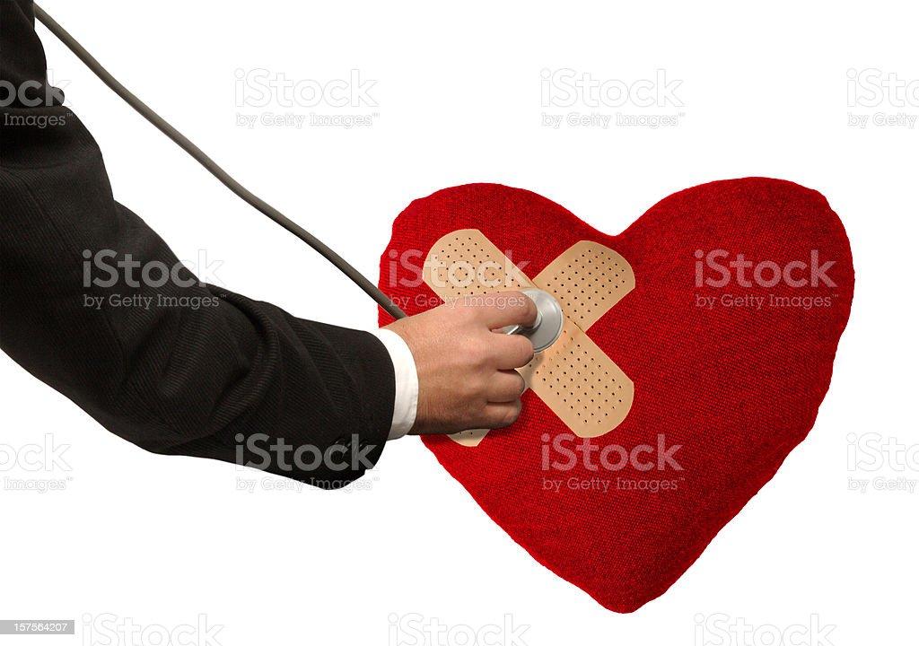 Problemas con un corazón roto - foto de stock