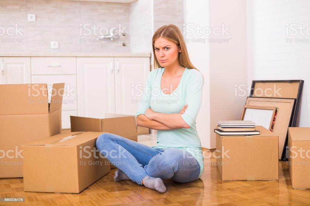Probleme mit Umzug in neues Zuhause – Foto