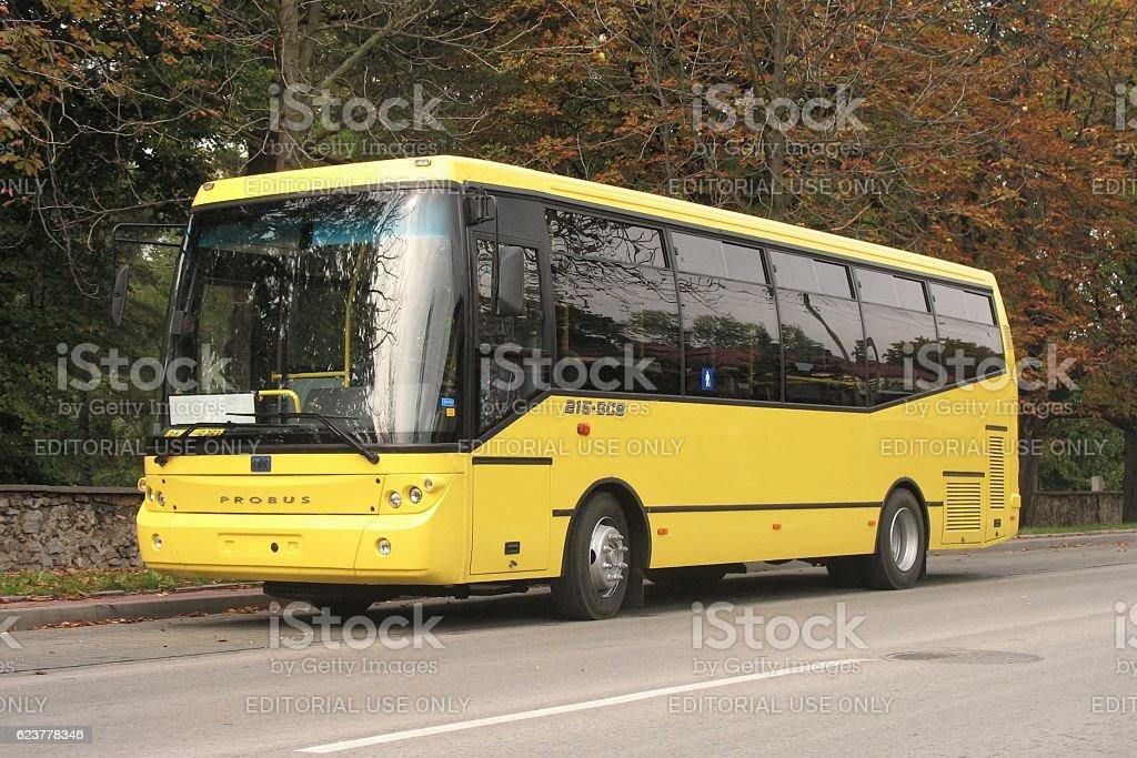 BMC Probus - Turkish bus stock photo