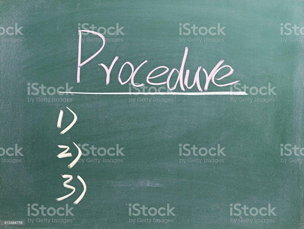 Verfahren – Foto