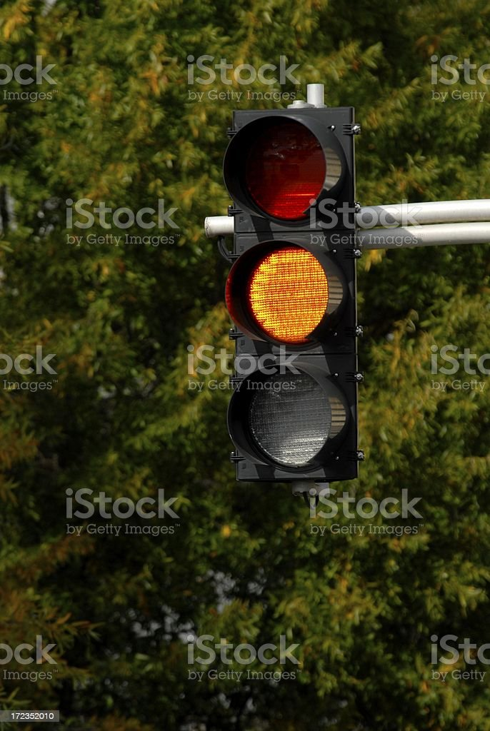 Proceed With Caution royalty-free stock photo