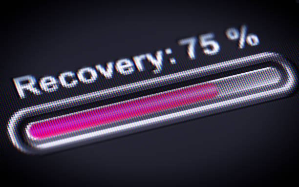 Process of Recovery stock photo